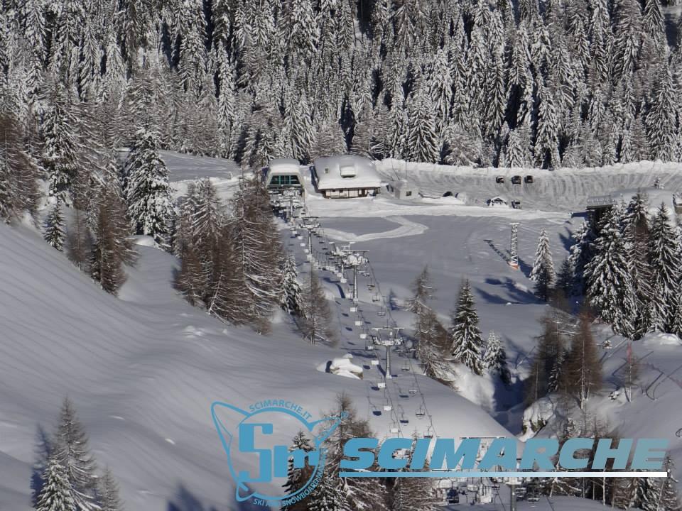 Sciare a Pescegallo - Valgerola - Lombardia