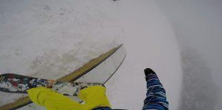 Simone Massetti del CrazyBoards Team Snowboard - Snowpark Monte Nerone