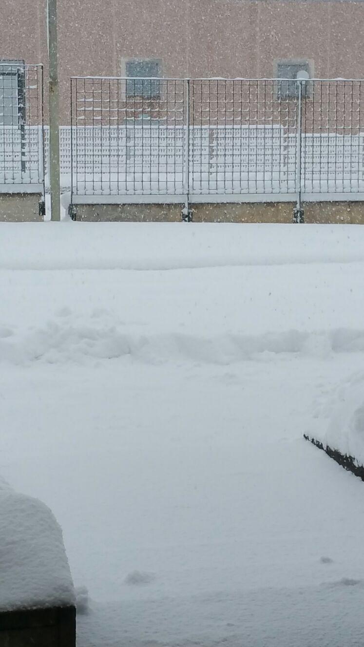 Situazione neve Muccia