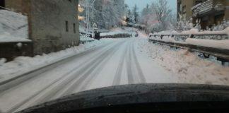 Situazione neve Polverina di Camerino