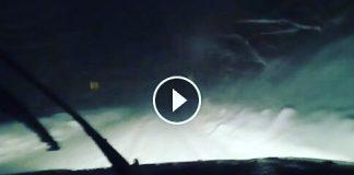 Il video della situazione neve sulla strada Sarnano Sassotetto - Credits Andrea Valori