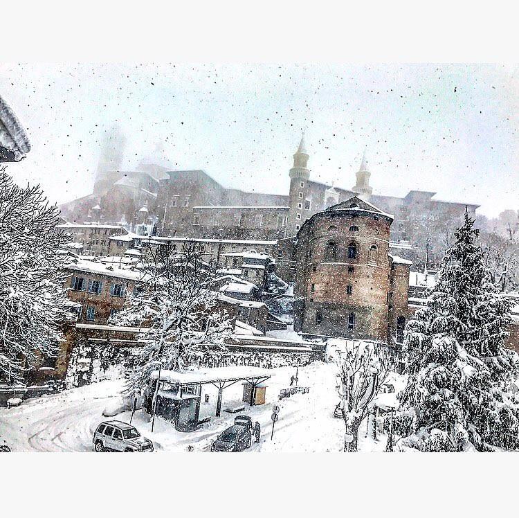 Situazione neve Urbino