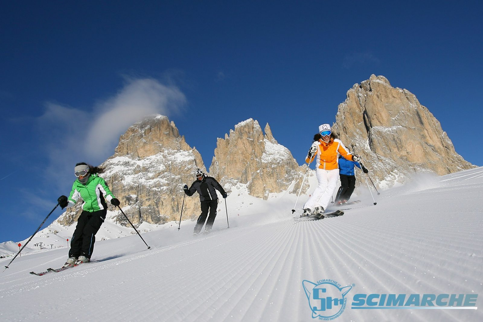 Ski area Col Rodella - Val di Fassa - Trentino Alto Adige
