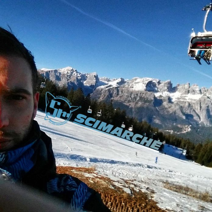 La foto del giorno di Stefano Sanità scattata ad Andalo - Fai della Paganella in Trentino Alto