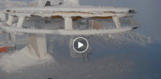 Il video che testimonia la tanta neve a Sarnano