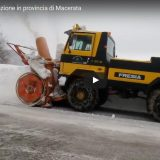 Turbine in azione in provincia di Macerata