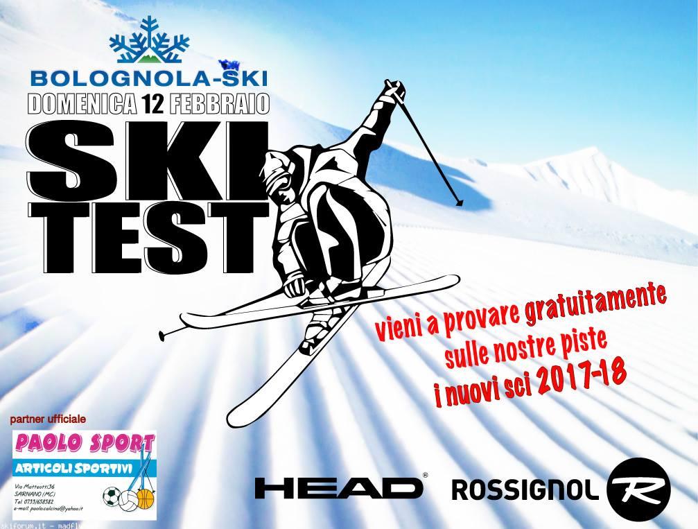 Bolognola ski test