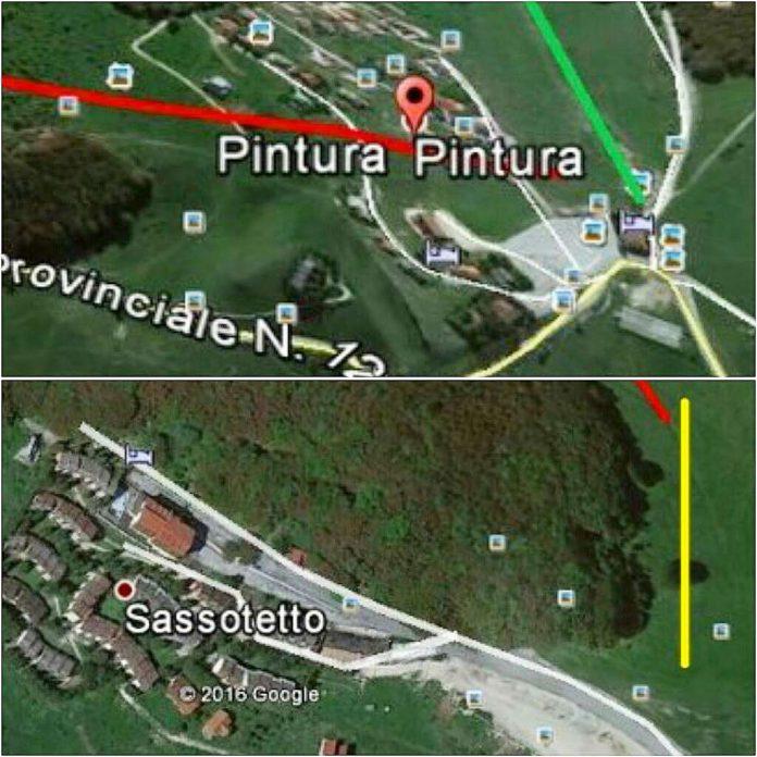 Ipotesi di collegamento stazione sciistica Pintura di Bolognola con Sassotetto