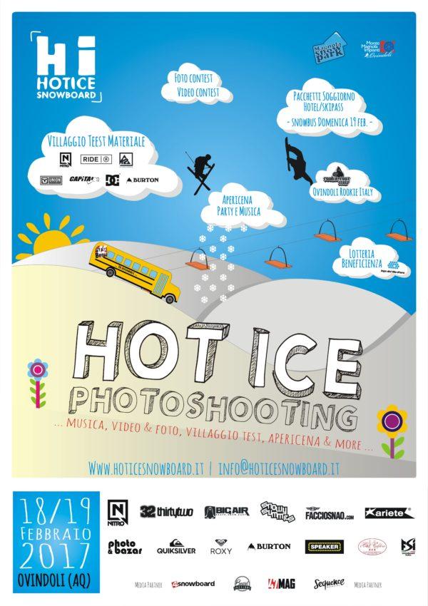 Ovindoli Monte Magnola, VII Hot Ice Photoshooting