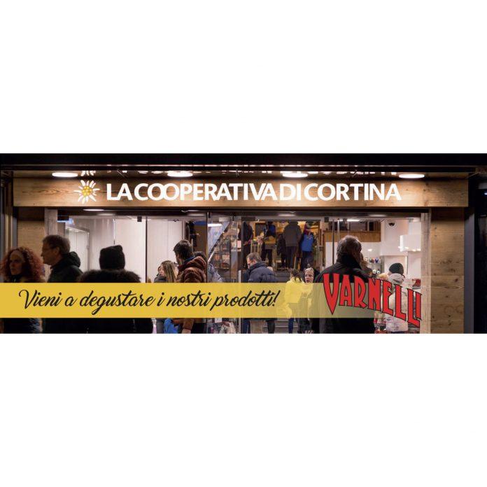 Alla Cooperativa di Cortina d'Ampezzo degustazione dei prodotti della Distilleria Varnelli