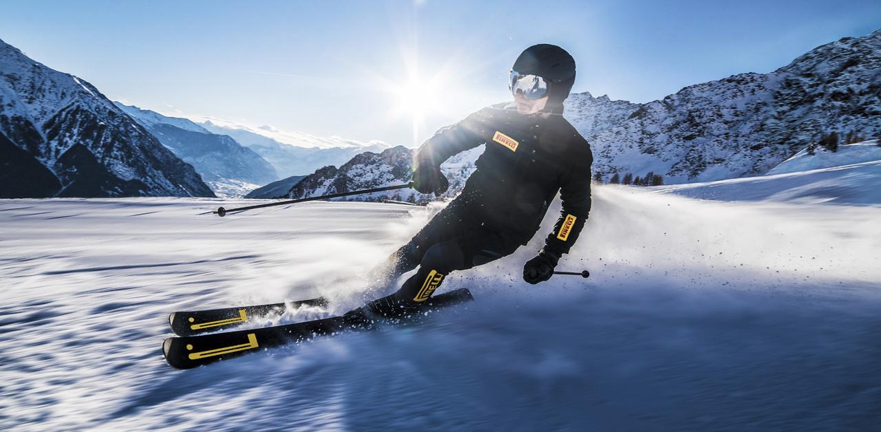 Pirelli in collaborazione con Blossom lancia il primo Sport Carve Ski con la gomma