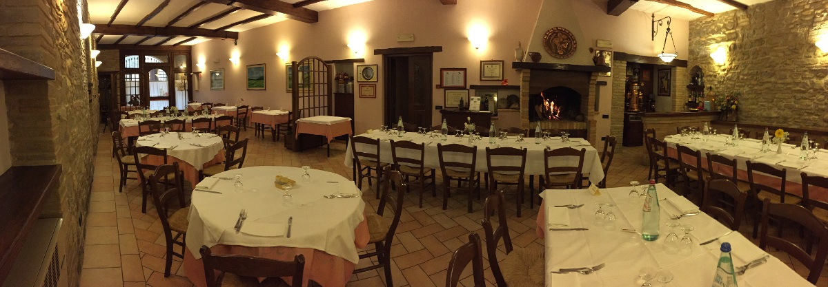 Sala da pranzo - Hotel Ristorante Il Cavaliere