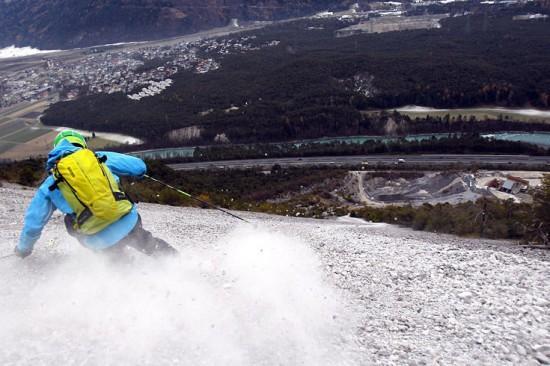 Sci sulle pietre - Rock Skiing - Credits: Dominic Ebenbichler