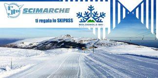 SciMarche ti regala lo skipass per sciare sulle piste di Bolognola