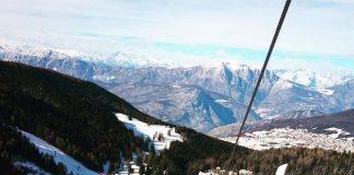 La skiarea di Folgaria Lavarone Luserna - Alpe Cimbra