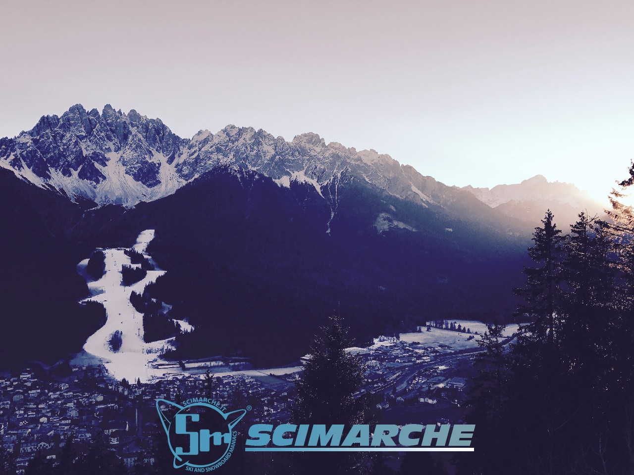 Tre Zinnen Dolomites - piste Haunold - Alto Adige