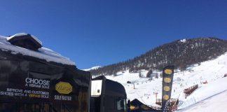 Il Vibram sole factor truck - Tour 2017 - Livigno