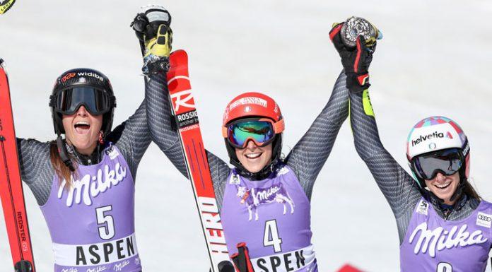 Brignone, Goggia, Bassino - Coppa del mondo - Aspen 2017 - Credits Fisi.org