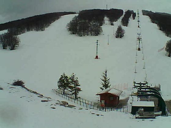 Monti Sibillini nevicata del 27.03.2017