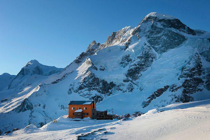 Il rifugio Gandegghuette a Zermatt in Svizzera