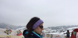 Virginia Raggi in vacanza forzata sulle Dolomiti - Credits: Repubblica