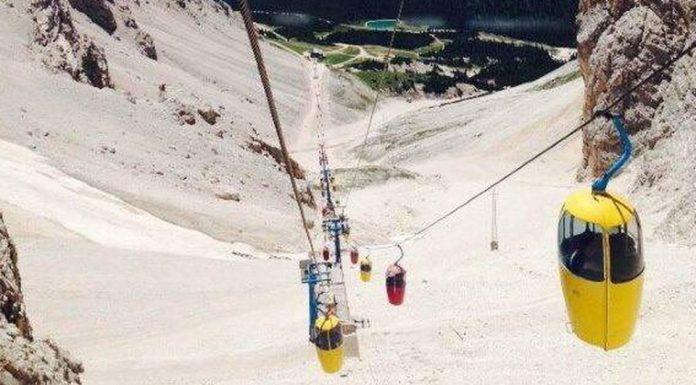 L'ovovia Staunies in vendita a Cortina d'Ampezzo
