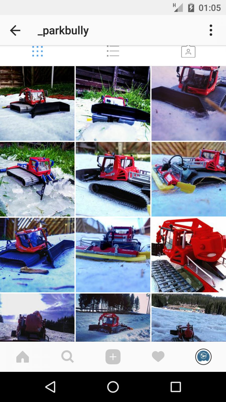 Segui @_parkbully su Instagram -> solo modellini del gatto delle nevi PistenBully
