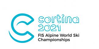 Il logo di Cortina 2021