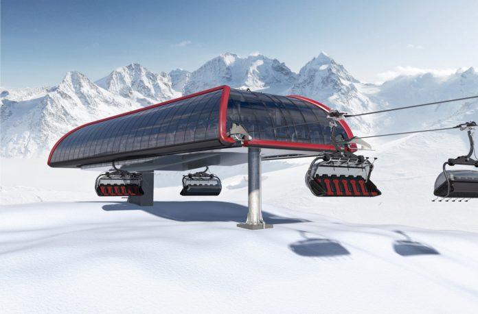 Nuova stazione Leitner ropeways firmata da Pininfarina