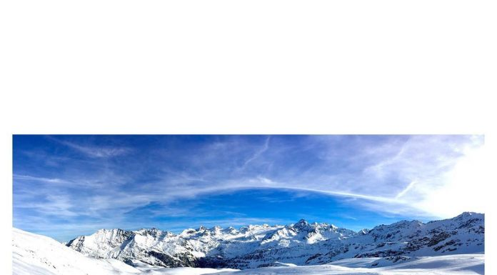 Stazione sciistica, La Thuile in Valle d'Aosta
