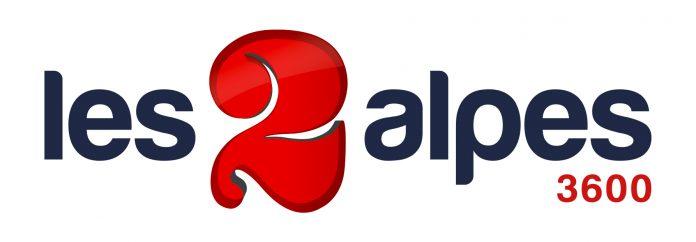 Il logo del comprensorio sciistico di Les 2 Alpes 3600