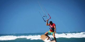 Marco Sabbatini, istruttore kitesurf IKO