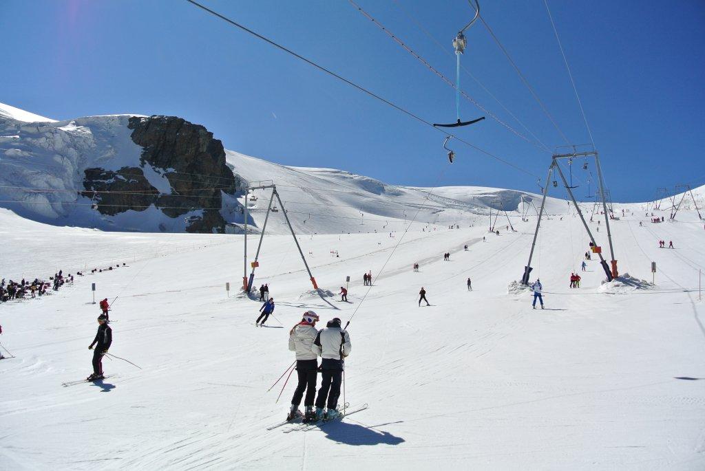 Sci estivo a Zermatt