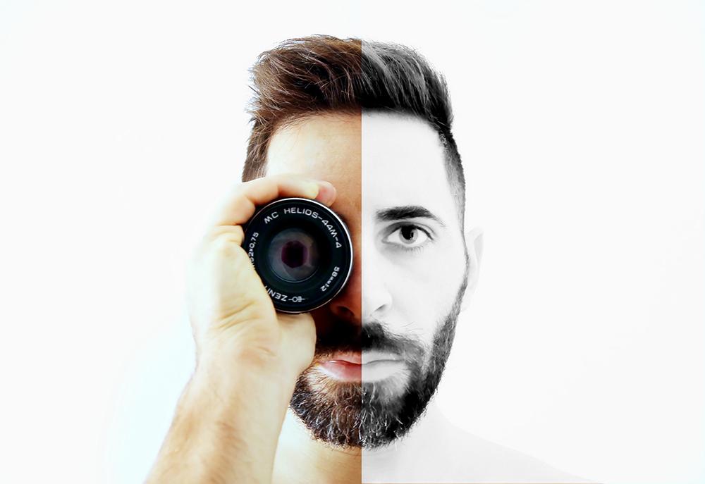 Il fotografo Matteo Mazzoni
