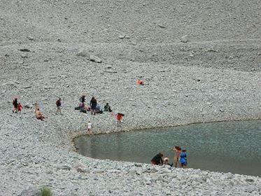 Bagno nudi nel lago di Pilato - foto scattata da Alessandro Bugatti