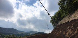 Una foto dei lavori sulle piste da sci Pizzalto a Roccaraso - Foto credits: Roccaraso.net
