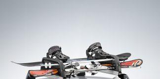 Come trasportare gli sci e snowboard in auto