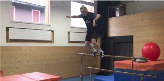 L'allenamento pazzesco dello sciatore freestyle Andri Ragettli