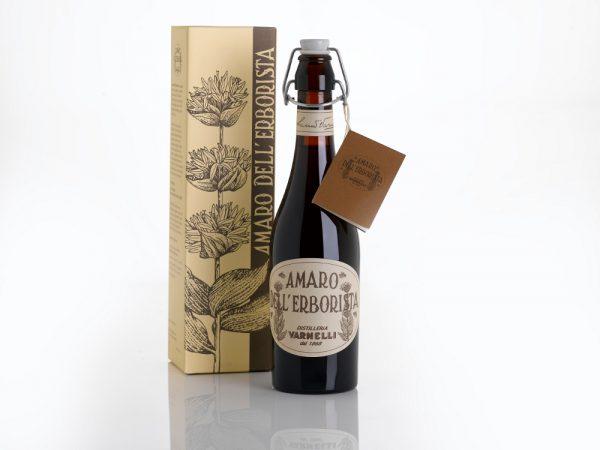 Amaro dell'Erborista Varnelli con astuccio