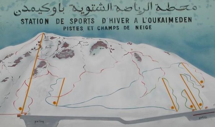 Sciare in Marocco a Oukaimeden