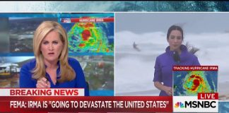 Florida, fa kitesurf mentre c'è l'uragano Irma