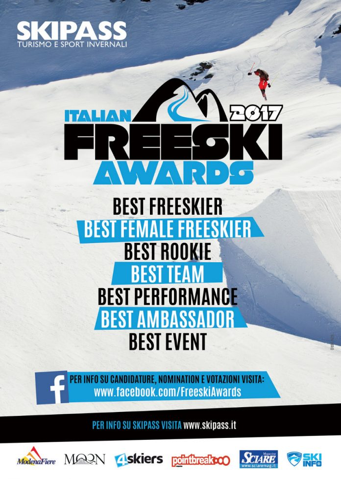 Fiera Skipass 2017, categorie in gara agli Italian Freeski Awards