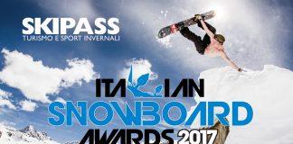 Fiera Skipass 2017, categorie in gara agli Italian Snowboard Awards