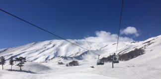 Dove sciare sull'Etna