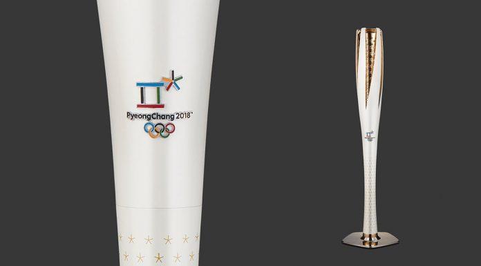 La torcia olimpica dei Giochi di PyeongChang 2018
