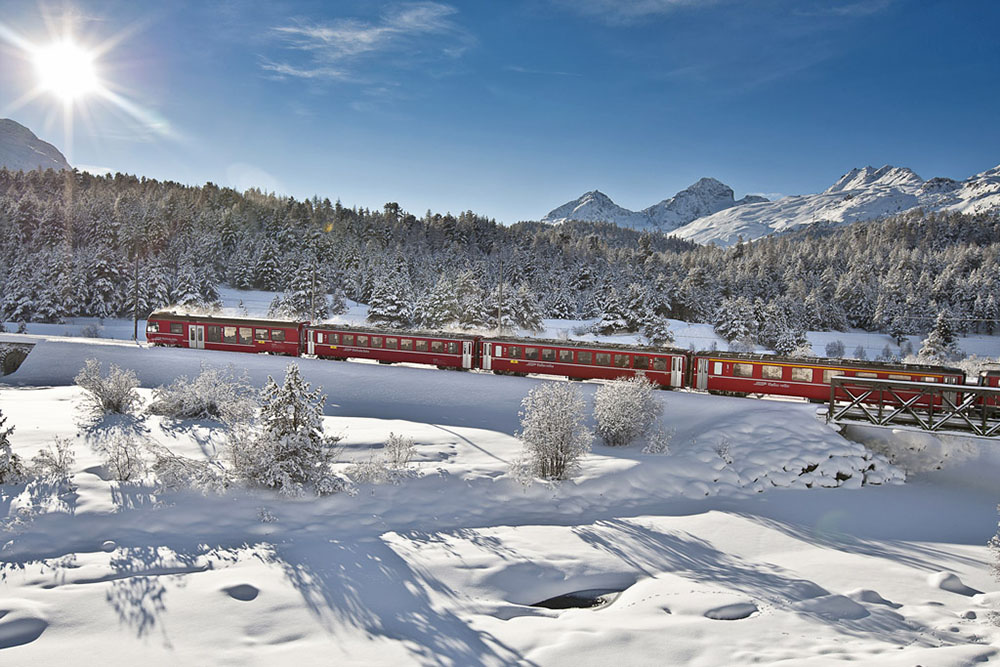 Copyright by Rhaetische Bahn By-line: swiss-image.ch/Andrea Badrutt
