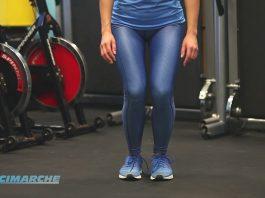 Esercizi presciistica, Piegamenti gambe con circonduzioni delle ginocchia