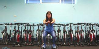 Esercizi presciistica, Squat propriocettivo su bosu capovolto