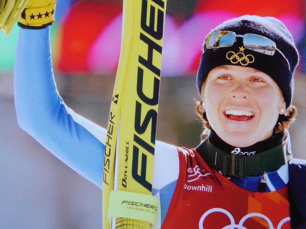 La sciatrice Isolde Kostner