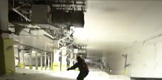 Snowboard di notte nella pista chiusa, scoperti perchè dimenticano la loro camera